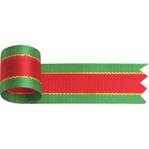 pin Ribbon Christmas 8mm