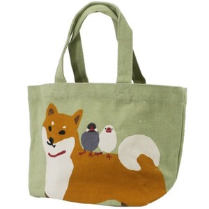 Lunch Tote Canvas Tote Friendly Shibatasan Beige