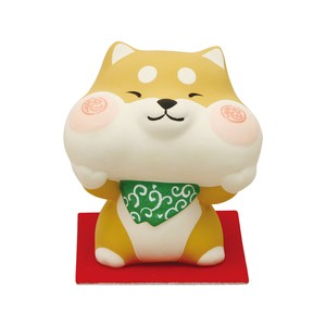 Objects and Ornaments Plump And Happy Cheek Shiba Dog