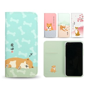 Release iPhone Case Notebook Type Shibatasan Diary Case