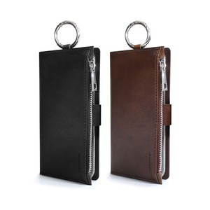 iPhone Case Plus RING Notebook Type Wallet Attached Ring Attached