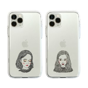 iPhone Case soft Clear Case Girl