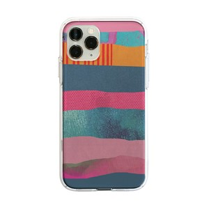 Release iPhone iPhone Case soft Clear Case STRIPE