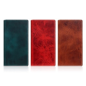 iPhone Case Notebook Type Genuine Leather SLG Design