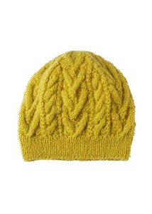 Cable Knitted Cap
