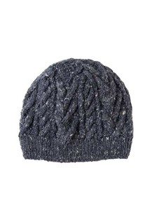Cable Banana Nep Knitted Cap