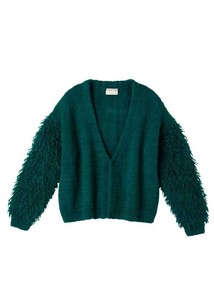Hand Knitting Fringe Knitted Cardigan