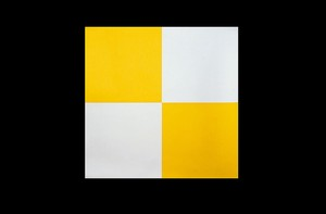 Checkered Gold And Silver Both Sides