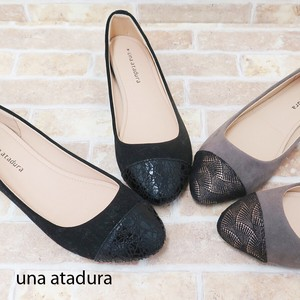 Suede Toe Switch Almond Pumps [2019NewItem] A/W