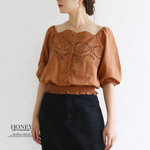A/W Wrap Top Mock Blouse