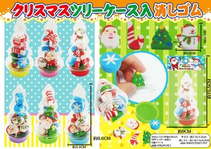 Christmas Sales Promotion Christmas Tree Cased Eraser