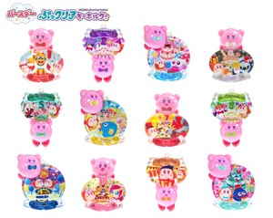Kirby of the Stars Clear Key Ring 60 Pcs