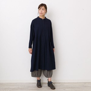 peniphass Switching Tuck One-piece Dress
