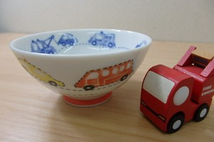 Child Car Japanese Rice Bowl
