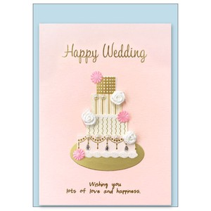 Paper Card Wedding Wedding Cake