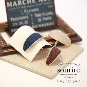 Hair Elastic Attached Oval Hook Cuffs Easy Arrangement