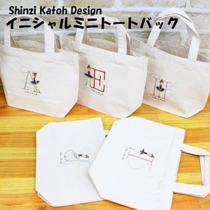 SHINZI KATOH Initial Bag Natural