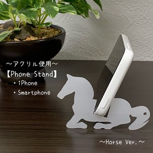Smartphone Stand Key Ring Acrylic Use