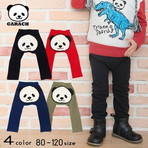 Panda Bear Applique Monkey Pants