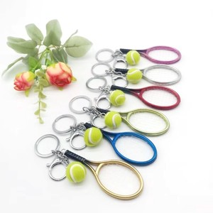 Key Ring Tennis Sport Pick