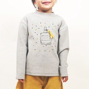 A/W Kids Girl Girls Perfume Print Long Sleeve T-shirt