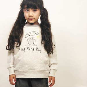 A/W Kids Girl Girls Phone Print Fleece Sweatshirt