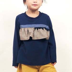 A/W Kids Girl Girls Frill Long Sleeve T-shirt