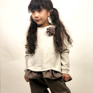 A/W Kids Girl Girls Frill smooth Long Sleeve Tunic