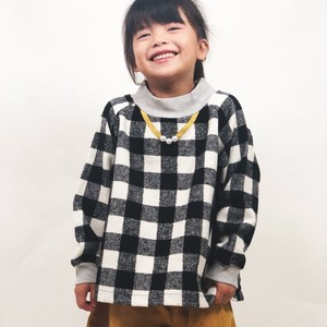 A/W Kids Girl Girls Gigging Checkered Sweatshirt