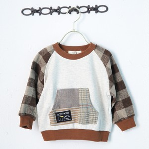 A/W Kids Boys Boys Checkered Pocket Sweatshirt