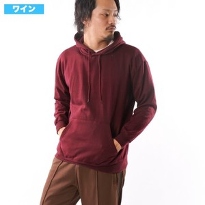 [2019NewItem] Raised Back Big Hoody Plain Big Silhouette Beige Wine Red Dark Green