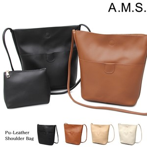 soft Leather Shoulder Bag Pouch Diagonally
