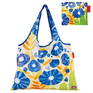 Shopping Bag Blue Folded Eco Bag