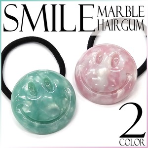 A/W Hair Elastic Marble Circle Ladies Fancy Goods