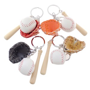 Key Ring Baseball Sport Baseball