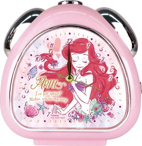 Disney Girly Pudding Rice Ball Clock Ariel