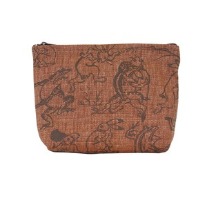 Wildlife Caricature Pouch