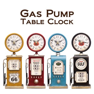 Table Clock Table Clock Gas Pump American