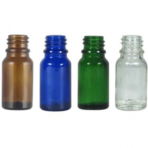 Glass Light Shielding Black Cap Set Aroma Storage Container