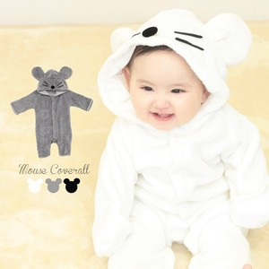 Both Sides Towel Fleece Cover All Mouse Costume Rompers Baby A/W