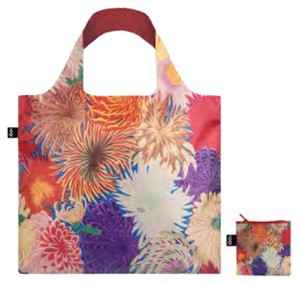 【人気商品】LOQI(ローキー)エコバッグ Museum Collection MAD Collection/Japanese Chrysantheme