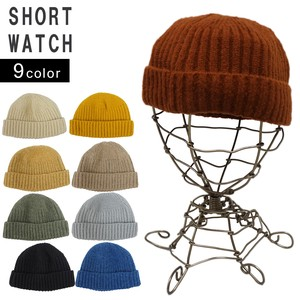 Hats & Cap Knitted Hat Men's Ladies Knitted Cap Watch Cap Short Watch Cap Key