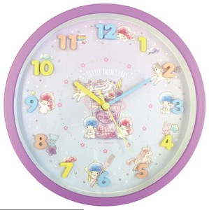 Sanrio Icon Wall Clock Little Twin Star