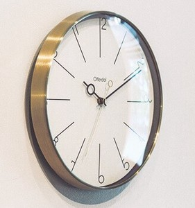 Wall Clock Wall Clock Interior Gold Living