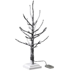 Popular Season Christmas LED Branch Tree Slim Brown Size S