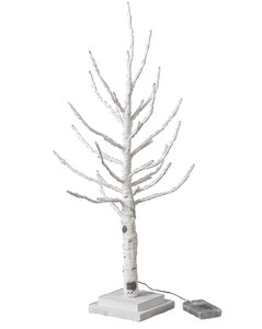 Popular Season Christmas LED Branch Tree Slim White Size S