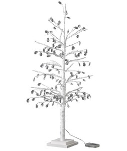 Popular Season Christmas LED Branch Tree Crystal White Size L
