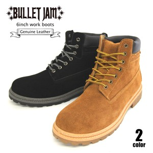 Men's Genuine Leather Suede Work Boots
