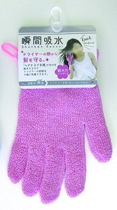Moment Water Absorption Dry Glove Pink