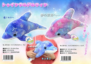 Soft Toy Dolphin Ink Dolphin